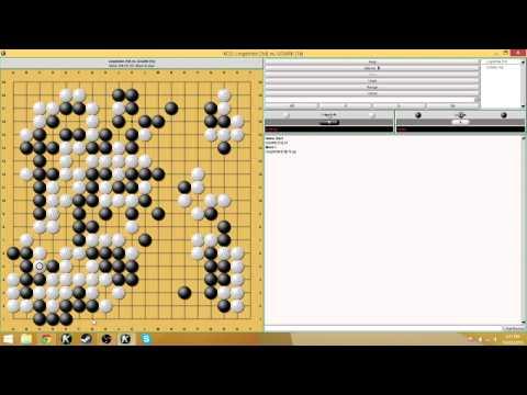 KGS Game - 0.5 komi game vs a 1kyu