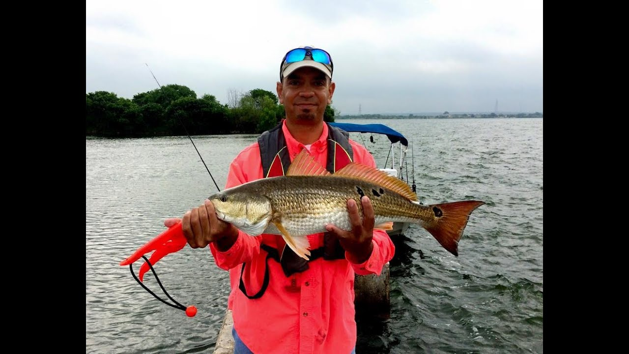 Calaveras lake redfish may 7th 2015 youtube for Calaveras lake fishing guides