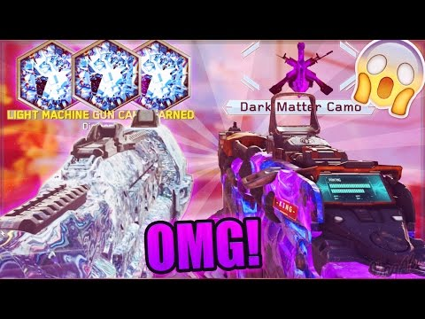 UNLOCKING FIRST DARK MATTER & DIAMOND CAMO in BOTH BO3 & IW!! (ROAD TO BLACK SKY IW) *LIVE REACTION*