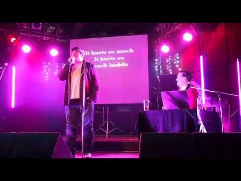 John DiMaggio covers Me and Mrs Jones by Billy Paul at Rock and Roll Karaoke