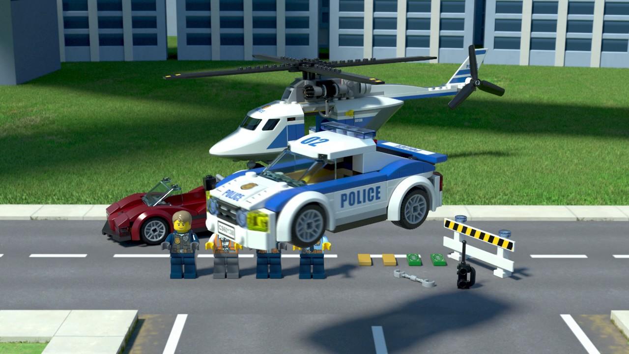 8a620ecd1 LEGO® City - 60138 Honička ve vysoké rychlosti - YouTube