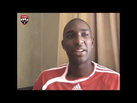 Interview with Jlloyd Samuel ahead of his international debut in 2009