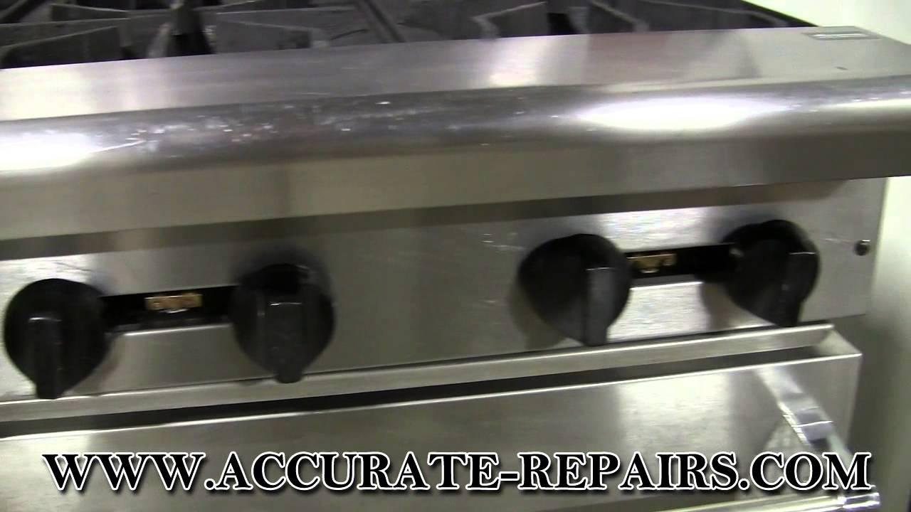 Salamander Kitchen Appliance American Range 6 Burner W Salamander Refurbished Youtube