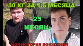 Как я похудел со 105 до 70 кг, за 1.5 полтора месяца! Это реально! Смотри