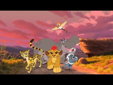 An Animation: The Lion Guard: Return of the Roar