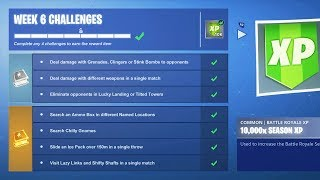 Fortnite WEEK 6 CHALLENGES GUIDE // Pro Console Player // 1600+ Wins (Fortnite Battle Royale LIVE)