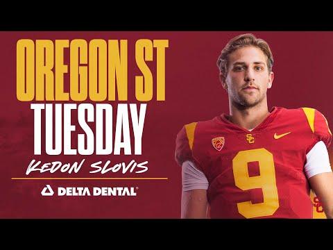 USC Football: 2021 Oregon State Tuesday - Kedon Slovis