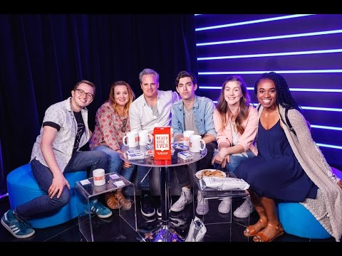 NEVER HAVE I EVER with the cast of Dear Evan Hansen