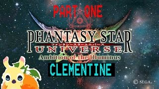 Phantasy Star Universe: AotI (PART 1) [Private Server Clementine is BACK DEC2016]