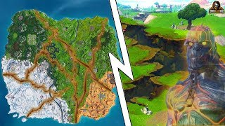 🔥FORTNITE SNOWFALL STAGE 3 LOCATION🔥WEEK 10 CHALLENGES🔥FIRE KING UPGRADE LOCATION/EARTHQUAKE🔥