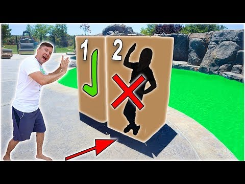 DONT Push The WRONG MYSTERY BOX Into The POOL Of SLIME! // SoCassie