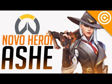 Novo Herói do OVERWATCH - ASHE (Analisando as Habilidades) thumbnail