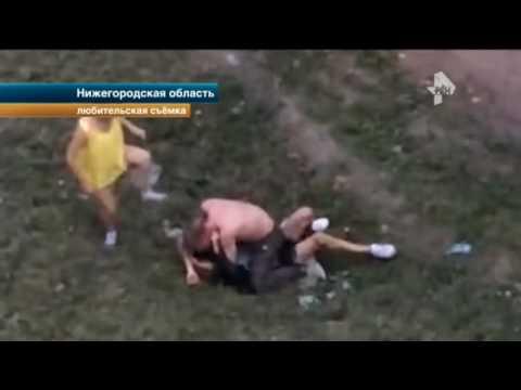 Очевидцы сняли на видео драку друзей в Нижнем Новгороде