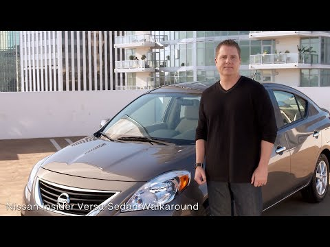 Nissan Insider Versa Sedan Walkaround