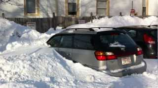 How to get your car out of the snow without a shovel