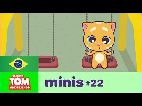 Talking Tom U0026 Friends Minis - Ginger Solitário (Episódio 22)