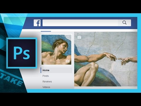 How To Make A FACEBOOK BANNER In Photoshop (Free Template) | Cinecom.net