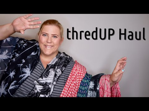 Plus Size Haul & Try On | thredUP