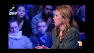 """Giorgia Meloni: """"la sovranità dei greci appartiene agli speculatori...è inaudito!"""""""