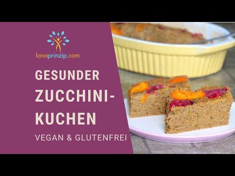 Glutenfreies, Veganes Zucchinikuchen Rezept - Backe Einen Saftigen Und Gesunden Veganen Kuchen