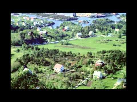 Florø fotografert fra fly