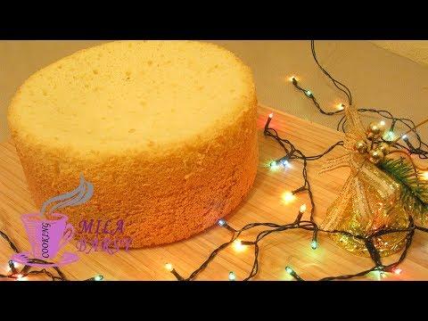 Как испечь бисквит на плите в кастрюле