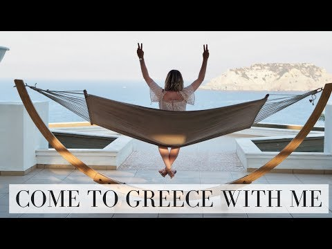 COME TO CRETE GREECE WITH ME VLOG | TRAVEL | Emma Mumford