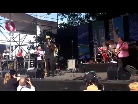 Frank Bey & Anthony Paule Band - Live @ 2014 Portland Blues Festival