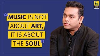 Music Is Not About Art, It Is About The Soul | AR Rahman | Replug