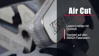 AMADA Fiberlaser Air Cut (German) - Druckluft als kostengünstiges Schneidgas