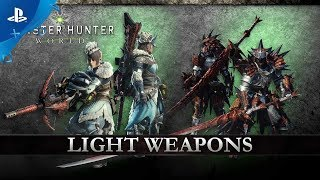 Monster Hunter: World – Technical Weapons | PS4