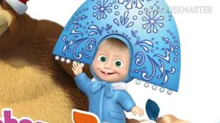 Masha and the Bear!Christmas with Masha!Merry Christmas Jingle Bells | song for baby kids/Learn