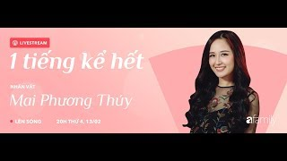 1 tiếng kể hết | Mai Phương Thúy nói về tin đồn sinh con và chuyện tình cảm với Noo Phước Thịnh