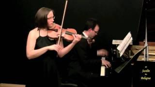 Johannes Brahms. Violin Sonata op 100 no 2. 2 Andante tranquillo - Vivace.