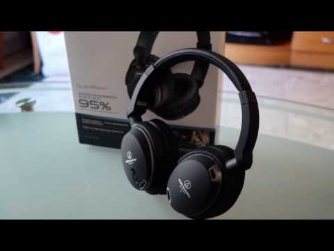 Audio Technica ATH ANC9 noise Cancelling Headphones Review