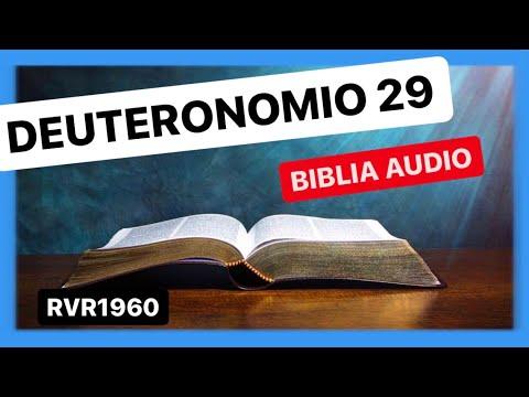 Deuteronomio 29 - PACTO DE JEHOVA CON ISRAEL EN MOAB 📖 Biblia Audio RVR1960