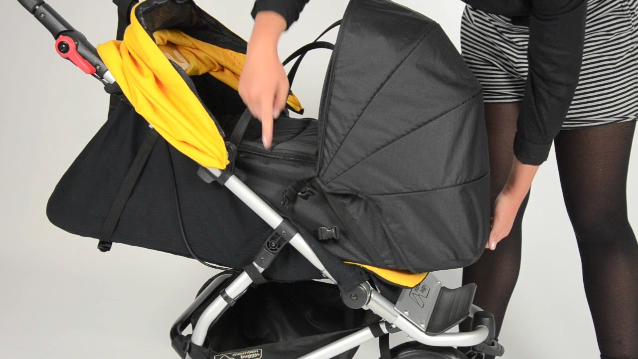 Attaching An Mb Cocoon Instructional Video Mountain Buggy