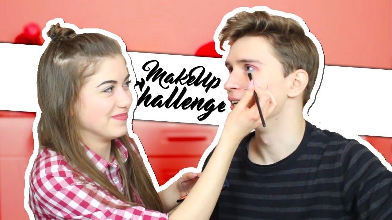 CO ONA ZROBIŁA?! – Makeup Challenge /w Alex Mandostyle