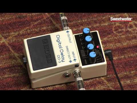 BOSS DD-3 Digital Delay Pedal Review - Sweetwater Sound