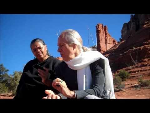 Drunvalo Melchizedek interviewed on Peace Talks with Audri Scott Williams in Sedona 2 of 3