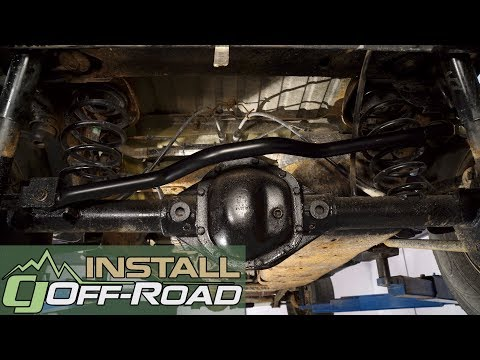 ReadyLIFT Heavy Duty Front Adjustable Track Bar For 2007-2018 Jeep Wrangler JK