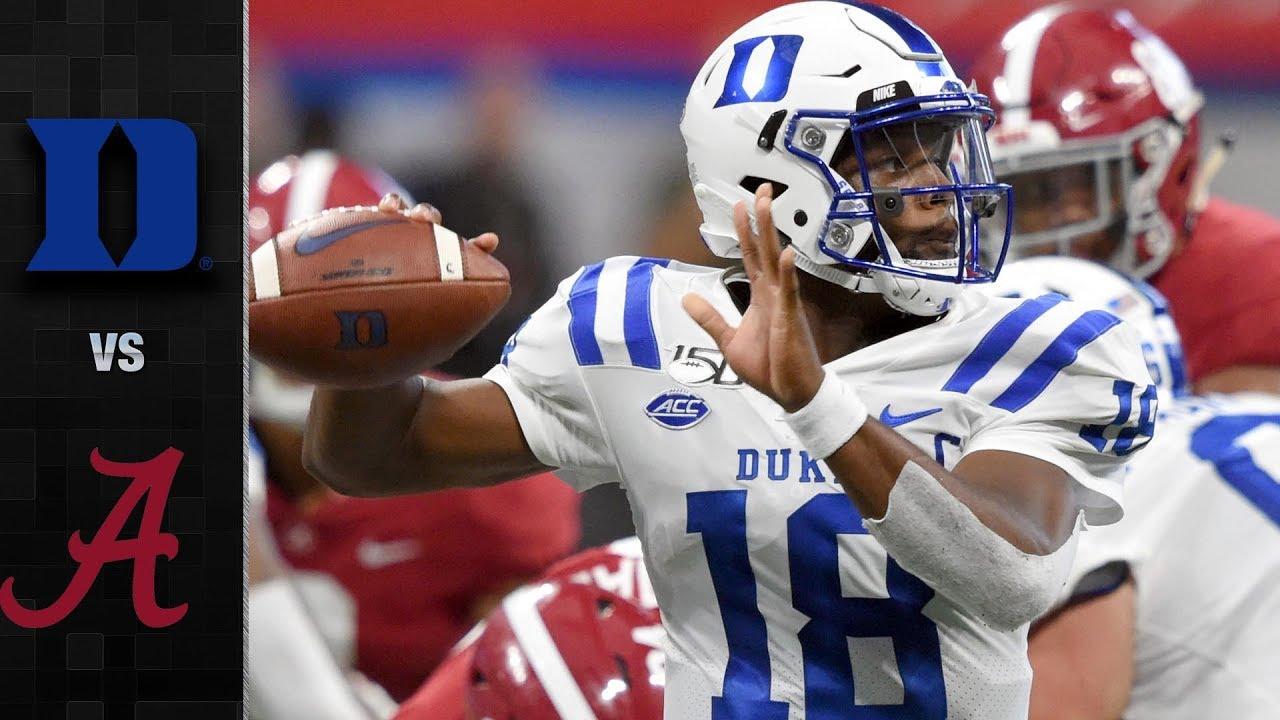 Download Duke vs. Alabama Football Highlights (2019)