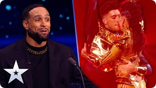 Aaron & Jasmine get us IN A SPIN with flaming hot dance! | The Final | BGT 2020