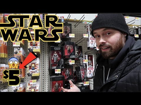 EPISODE 54  TOY HUNTING FOR $5 STAR WARS BLACK SERIES FIGURES!!