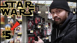 EPISODE 54 - TOY HUNTING FOR $5 STAR WARS BLACK SERIES FIGURES!!