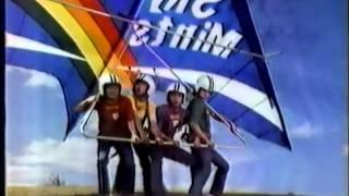 1978年、グリコ「スカイミント」テレビコマーシャル。 出演:ずうとるび...