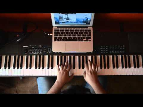 Angelo Diaz Cover Keyboard solo Circus Dirty Loops