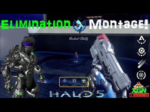 Halo 5 Ranked Elimination Montage, Arena Mastery Legacy gameplay!