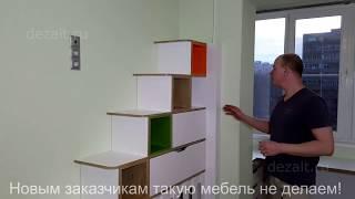 Обзор мебели в детскую комнату