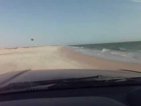 Beach piste from Nouamghar to Nouakchott, Trarza, Mauritania